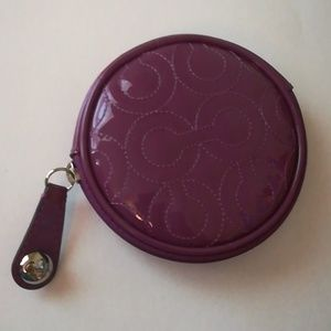 Coach patent leather coin purse 44471